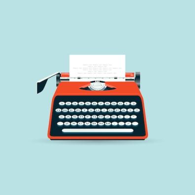 Typewriter - Illustration